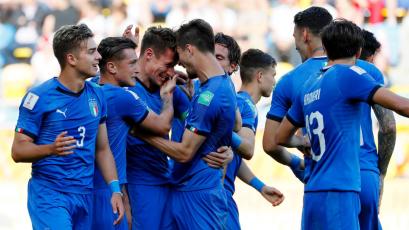 Mundial Sub 20: Italia superó a Polonia y ya está en cuartos de final
