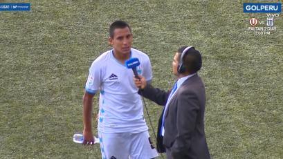 Álex Valera sobre el empate de Llacuabamba ante UTC: