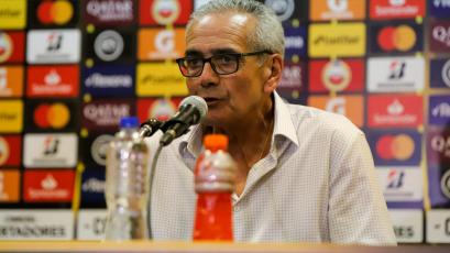 Gregorio Pérez tras la derrota de la 'U':