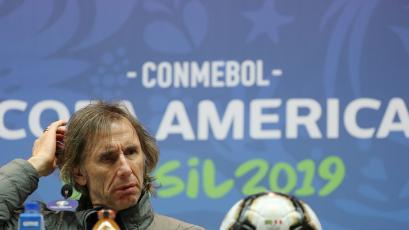 """Ricardo Gareca: """"Es el momento ideal para enfrentar a Brasil"""""""