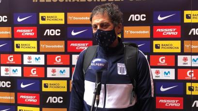 """Mario Salas: """"El gol fue un fiel reflejo de lo que queremos"""""""