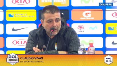 """Claudio Vivas: """"El empate hubiese sido lo más justo"""""""