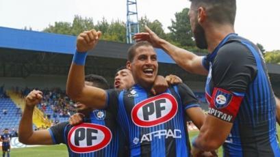 Alexander Succar debutó con gol en triunfo de Huachipato