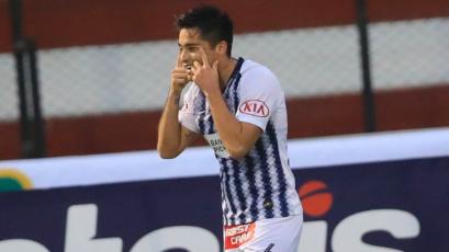 """Rodrigo Cuba: """"Sporting Cristal es un equipo duro que siempre nos hace buenos partidos"""""""