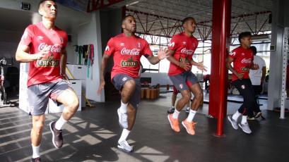 La Selección Peruana continúa con sus trabajos de fortalecimiento