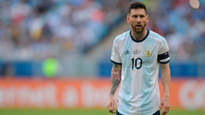 Argentina presentó lista de convocados para amistosos sin Lionel Messi