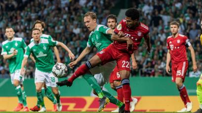 Werder Bremen y Claudio Pizarro no pudieron llegar a la final de la Copa Alemana