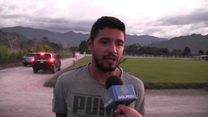 """Reimond Manco: """"Jugar un Mundial no es nada fácil"""""""