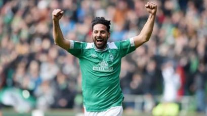 Claudio Pizarro alcanzó un nuevo récord con el Werder Bremen