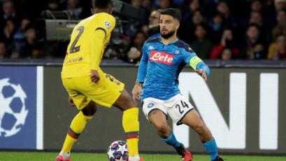 Champions League: Napoli y Barcelona igualaron en el duelo de ida de los octavos de final (VIDEO)