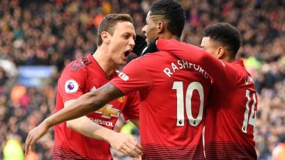 Manchester United supera al Leicester y se acerca cada vez más a la Champions