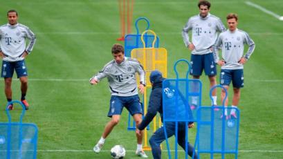 Bayern Munich inició entrenamientos en grupo de cara al reinicio de la Bundesliga