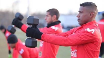 """Miguel Araujo: """"Me pone contento que 'Quevedito' se sume a la selección"""""""