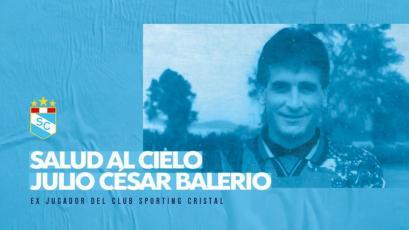 Sporting Cristal: un día como hoy nació el ex arquero Julio César Balerio