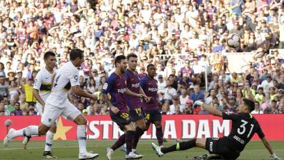 Barcelona apabulló a Boca Juniors y ganó el trofeo Joan Gamper