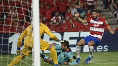 Barcelona, con todas sus estrellas, perdió con Granada, el equipo sorpresa de la Laliga (VIDEO)