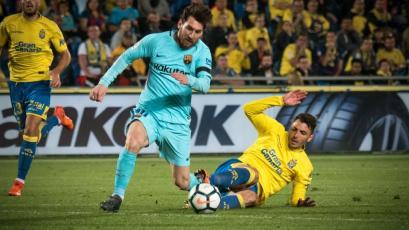 La Liga: Barcelona tropieza con Las Palmas y el Atlético se acerca
