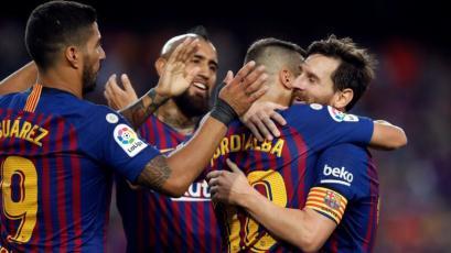 La Liga: Barcelona goleó anotando 8 goles al Huesca