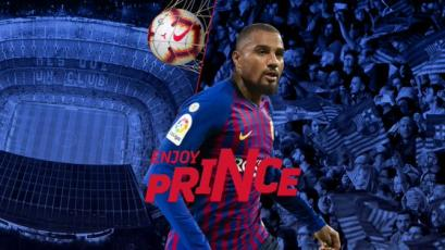 Barcelona hace oficial el fichaje de Kevin Prince Boateng