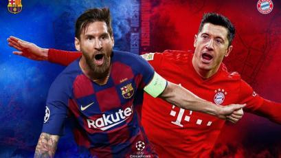 Champions League: Barcelona y Bayern se enfrentan en el partidazo de cuartos