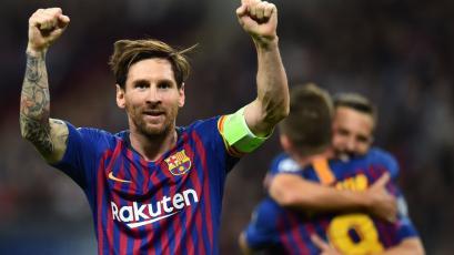 Con doblete de Messi: Barcelona le ganó 4-2 al Tottenham en Wembley