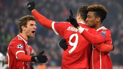Champions League: Bayern golea y se acerca a cuartos de final