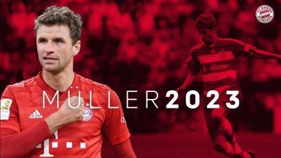 Bundesliga: Thomas Müller firmó su renovación con el Bayern hasta el 2023