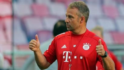 """Hansi Flick, técnico del Bayern Munich: """"El equipo está listo para ganarlo todo"""