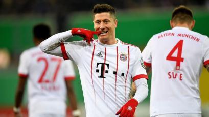 Copa de Alemania: Bayern golea y avanza a semifinales