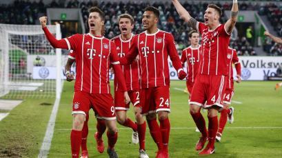 Bundesliga: Bayern ganó y lidera con 19 puntos de diferencia