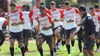 Selección Peruana Sub 20 sumó su primer entrenamiento en Chile