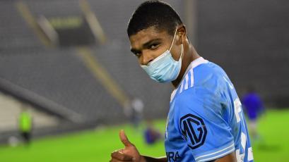 """Percy Liza: """"Dedico el gol a todos los hinchas y a mi familia"""" (VIDEO)"""