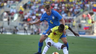Sudamericano Sub 20: Brasil y Colombia no pasaron del empate