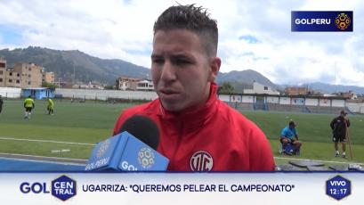 """Adrián Ugarriza """"Queremos pelear el campeonato"""""""