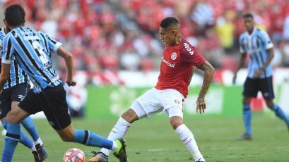 Paolo Guerrero jugará el primer clásico de Porto Alegre en la historia de la Copa Libertadores (VIDEO)