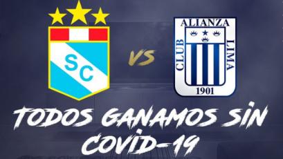 Sporting Cristal y Alianza Lima se midieron en un duelo contra el coronavirus