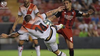 Rayo Vallecano igualó 2-2 ante Mirandés sin la presencia de Luis Advíncula