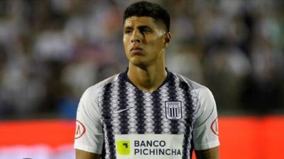 Hansell Riojas se despidió de Alianza Lima