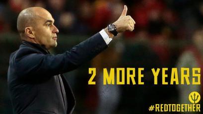 Roberto Martínez renueva por dos años con la Selección de Bélgica