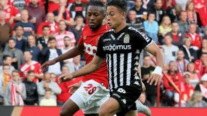 Cristian Benavente cerró el 2018 siendo titular con el Charleroi