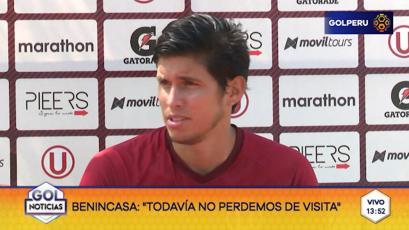 """Horacio Benincasa: """"El partido ante UTC es de suma importancia"""""""