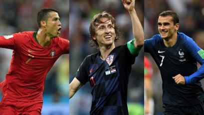 The Best: estos son los nominados a mejor jugador del mundo