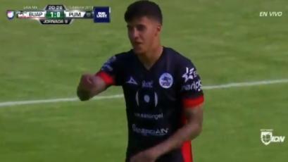 Beto da Silva marca su primer gol en México
