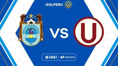 Universitario de Deportes visita a Deportivo Binacional por la séptima fecha de la Liga1 Movistar