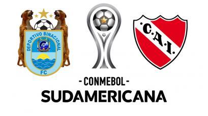 Copa Sudamericana: Deportivo Binacional recibe a Independiente en Arequipa
