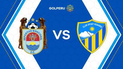 Binacional y Sport Rosario abren el telón de la fecha 12
