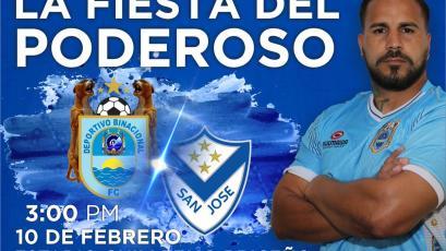 """Deportivo Binacional se medirá ante San José de Bolivia en """"La Fiesta del Poderoso"""""""