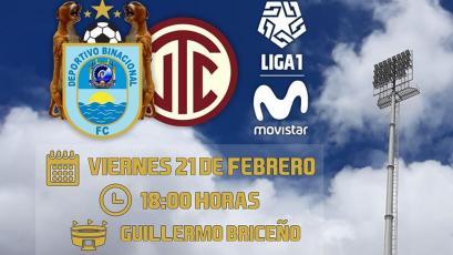 Liga1 Movistar: Binacional disputará su primer partido en Juliaca con luz artificial (VIDEO)