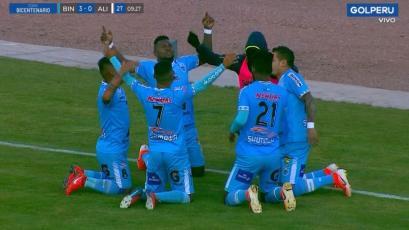 Binacional goleó 4-1 a Alianza Lima en Juliaca por la Copa Bicentenario