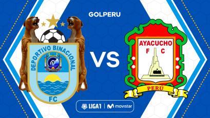 Binacional enfrenta a Ayacucho FC en Juliaca por la fecha 4 del Torneo Clausura de la Liga1 Movistar